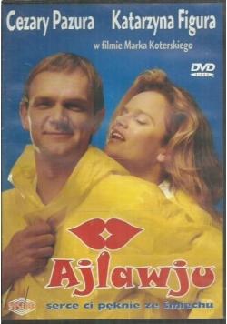 Ajlawju, płyta DVD