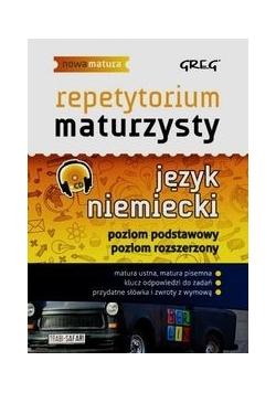 Repetytorium maturzysty Język niemiecki Poziom podstawowy Poziom rozszerzony + CD