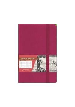 Notes A6 Kratka Secesja Różowy ANTRA