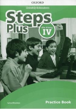 Steps Plus 4 Materiały ćwiczeniowe + Online Practice Book, Nowa