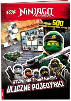 Lego Ninjago Wyzwania z naklejkami Uliczne pojedynki