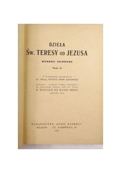 Dzieła Św. Teresy od Jezusa, 1943 r.
