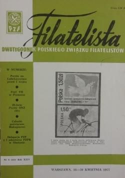 Filatelista, nr 8, 1977 r.