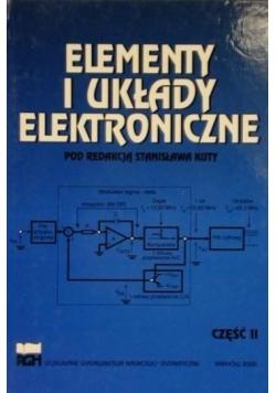 Elementy i układy elektroniczne