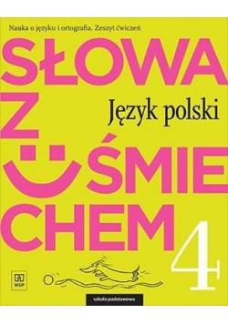J.Polski SP  4 Słowa z uśmiechem ćw. WSiP