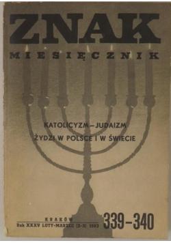 Miesięcznik ZNAK, nr 2-3, rocznik 1983