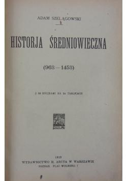 Historja Średniowiecza, 1919r.