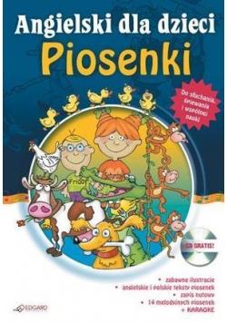 Angielski dla dzieci - Piosenki (CD Gratis) EDGARD