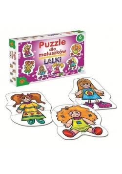 Puzzle dla maluszków - lalki ALEX