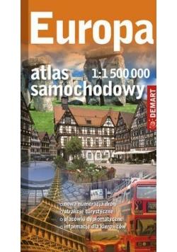 Atlas samochodowy Europa 1:1 500 000