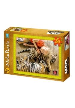 Puzzle 30 - Nela - tygrys BURDA