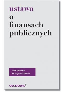 Ustawa o finansach publicznych