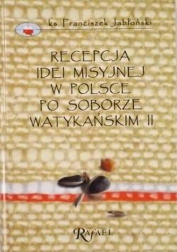 Recepcja idei misyjnej w Polsce po Soborze Watykańskim II