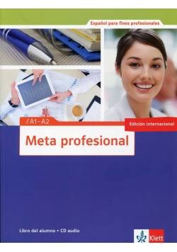 Meta profesional A1-A2 Libro del alumno + CD