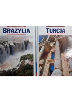 Podróże marzeń, 2 tomy, Turcja i Brazylia