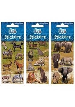 Naklejki Sticker BOO silver dżungla