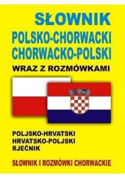 Słownik pol-chorwacki, chorwacko-pol wraz z rozm.