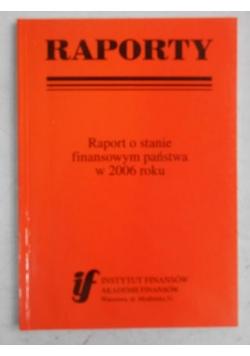 Raport o stanie finansowym państwa w 2006