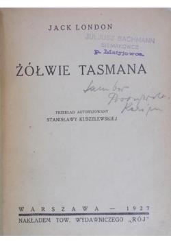 Żółwie Tasmana, 1927 r.