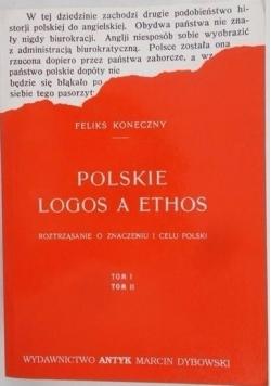Polskie Logos a ethos, Reprint z 1921r.