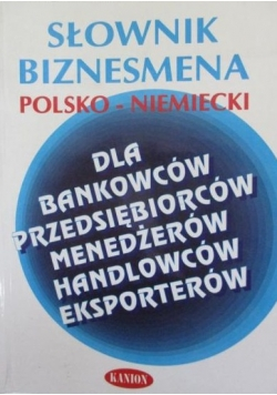 Grażyna - Słownik biznesmena polsko-niemiecki
