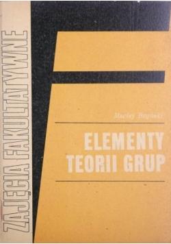 Elementy teorii grup