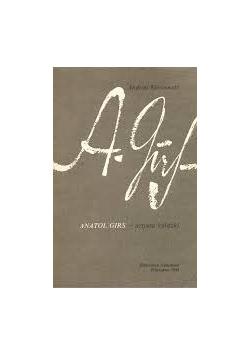 Anatol girls artysta książki