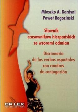 Słownik czasowników hiszpańskich ze wzorami odmian