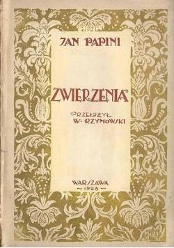 Zwierzenia, 1923r.