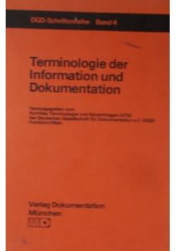 Terminologie der Information und Dokumentation