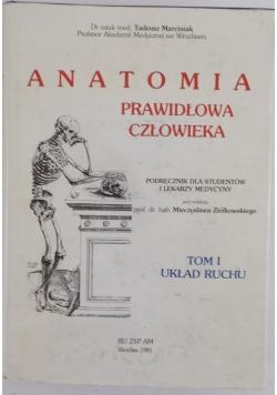 Anatomia prawidłowa człowieka, t. I