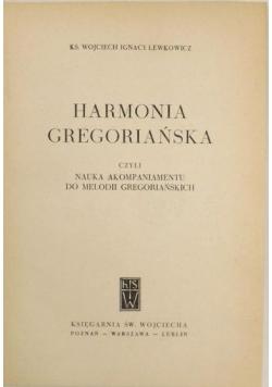 Harmonia gregoriańska