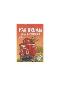 Pan Brumm jedzie pociągiem