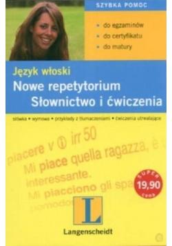 Język włoski. Nowe repetytorium, słownictwo i ćwiczenia