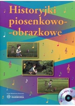 Historyjki piosenkowo-obrazkowe + CD w.2017