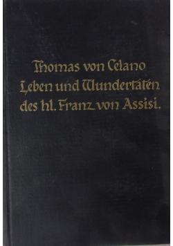 Leben und Wundertaten des.hl Franz von Assisi 1925r.