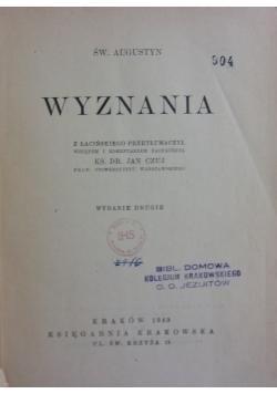 Wyznania, 1949 r.