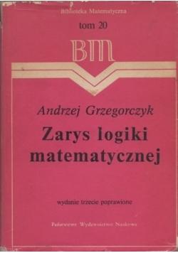 Zarys logiki matematycznej, tom 20
