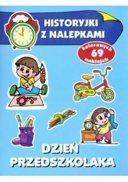 Historyjki z nalepkami - Dzień przedszkolaka