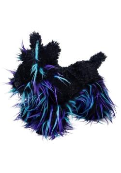 Piesek Dexter czarno niebieski 45cm