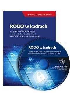 RODO w kadrach + CD