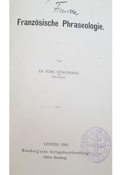 Franzosische Phraseologie