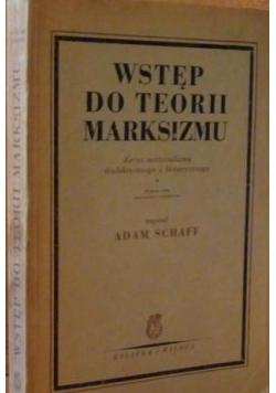 Wstęp do teorii marksizmu, 1950 r.