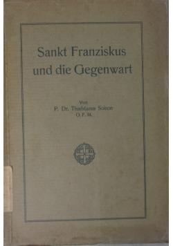Sankt Franziskus und die Gegenwart, 1927 r.