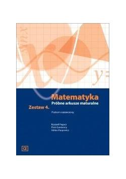 Matematyka LO Próbne arkusze maturalne z.4 ZR
