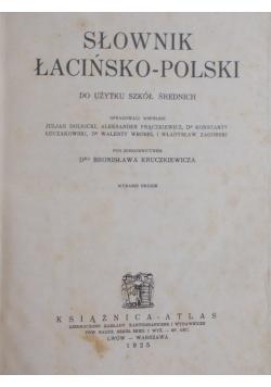 Słownik Łacińsko - Polski , 1925 r.
