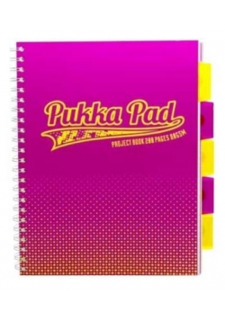 Project Book Fusion A4/200 kr pomarań (3szt) PUKKA