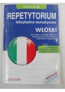 Repetytorium leksykalno-tematyczne. Włoski + CD