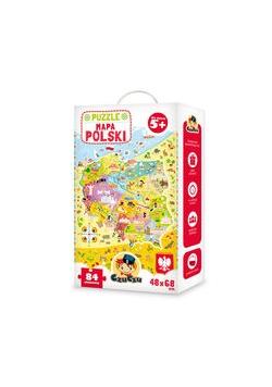 CzuCzu Puzzle 84 Mapa Polski, Nowa