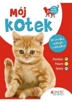 Mój kotek - książka z naklejkami